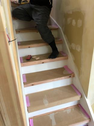 既存階段カバーブリッチ