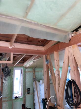 内部天井屋根断熱