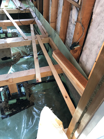 床下防湿シート施工
