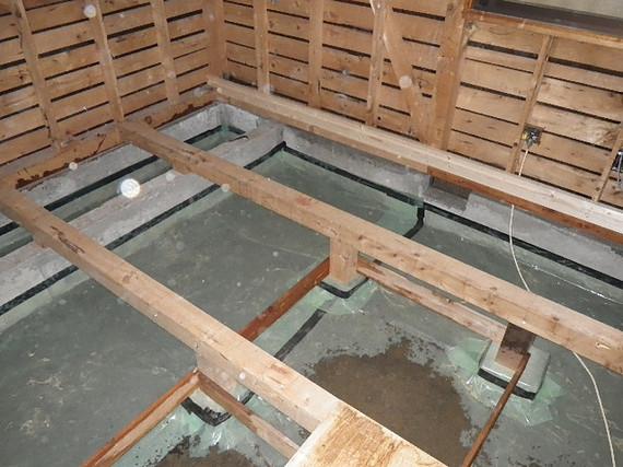 床下防湿措置
