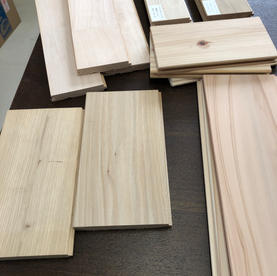 床材カットサンプル