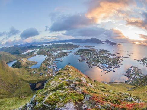Lofoten Mountains and Sea