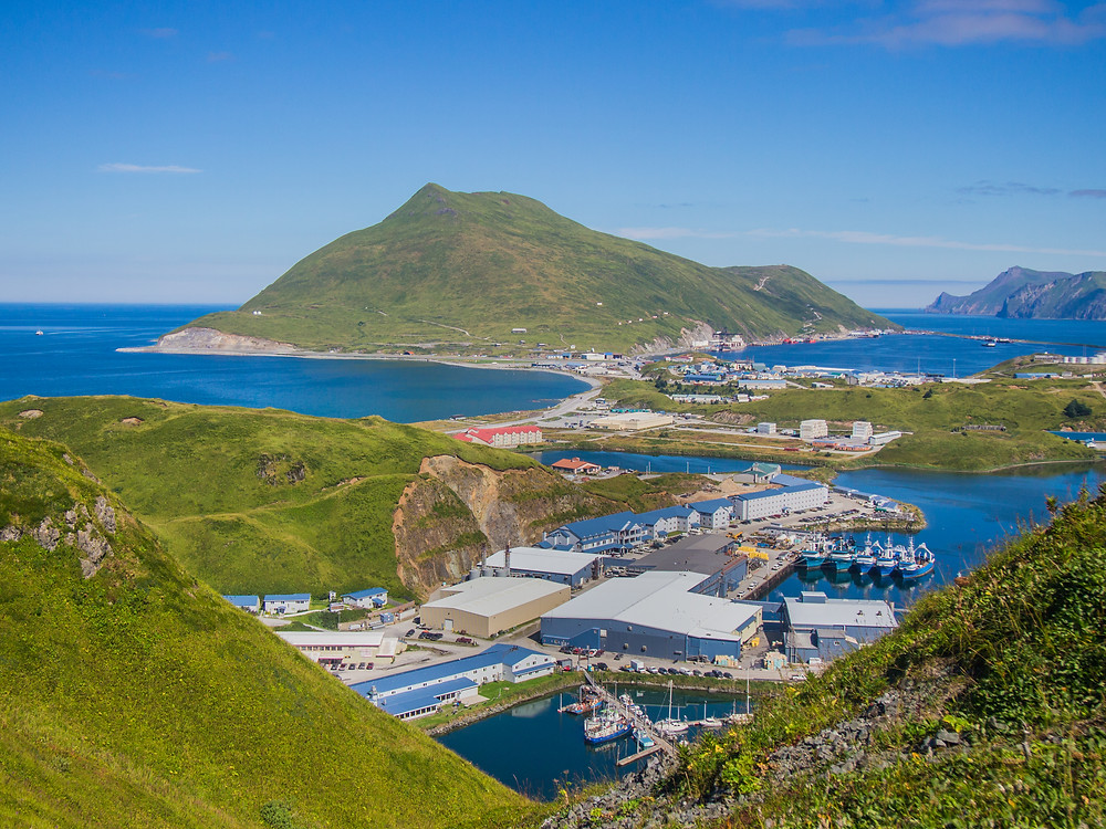 Dutch Harbor, Alaska - situated in the heart of the Bering Sea and Aleutian Islands