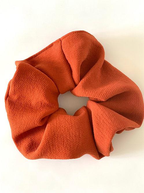 Chouchou orange brique
