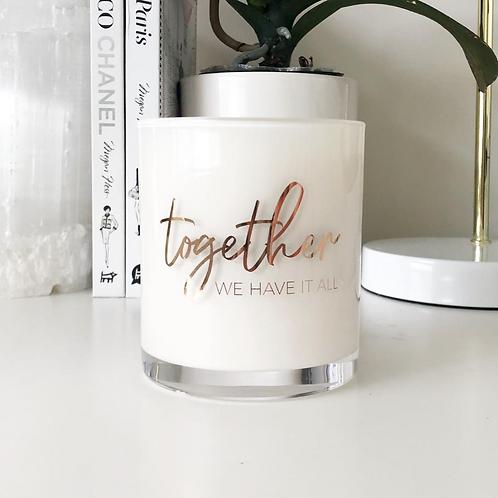 'Together we have it all' Design