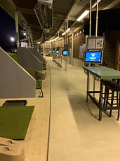 heated driving range, heated range, heated golf range, heated golf bays, Toptracer golf, Toptracer golf range, year round golf range