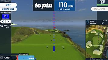 Virtual Golf, or Simulator Golf at St. Andrews