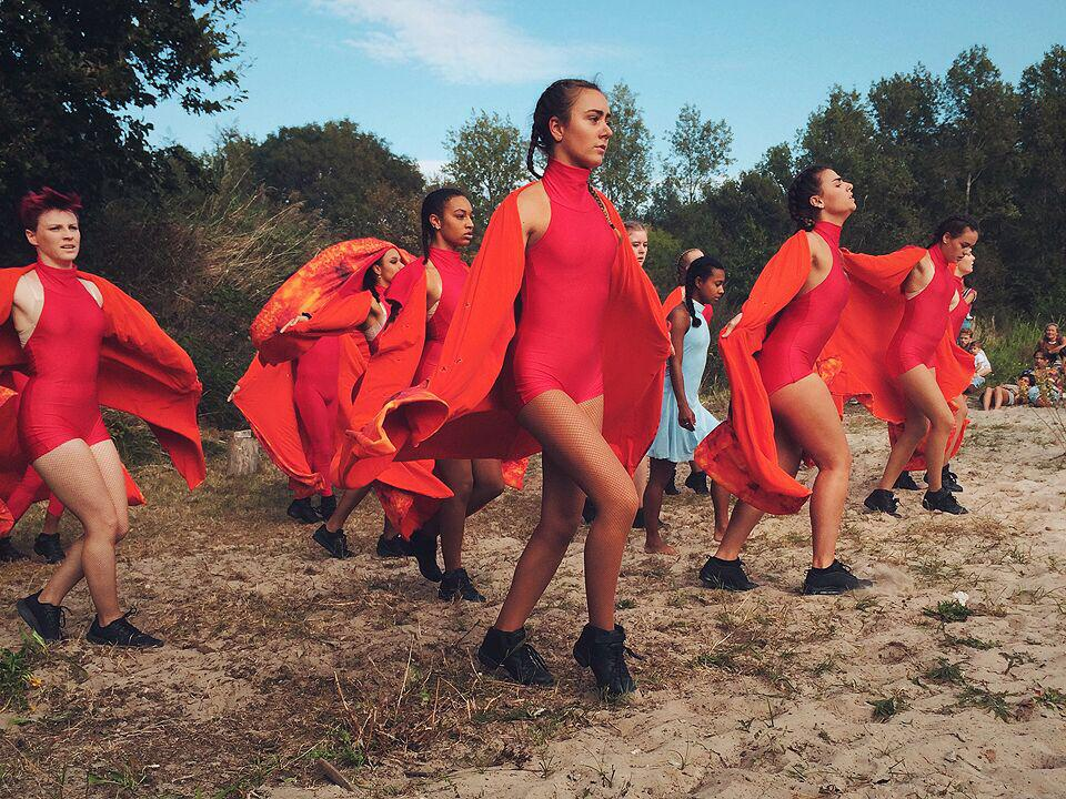 Dansers rood