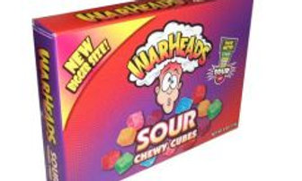 Warheads Sour Chewy Cubes 113g