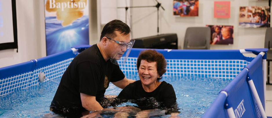 Resuming Baptism Services In A Different Manner