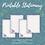Thumbnail: Purple Floral Moon Printable Stationary Set