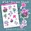 Thumbnail: Bright Mushroom Sticker Sheet