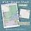 Thumbnail: Purple Floral Moon Sticker Sheet