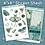 Thumbnail: Lunar Moth Sticker Sheet