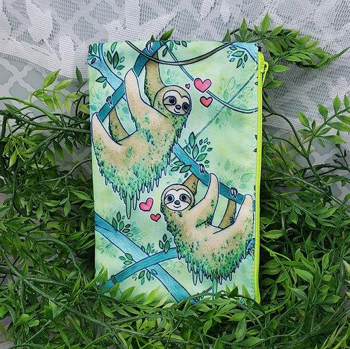 Sloth Love Zipper Pouch