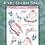 Thumbnail: Birds & Bows Sticker Sheet