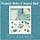 Thumbnail: Teal Lunar Moth Printable Journal & Sticker Sheet