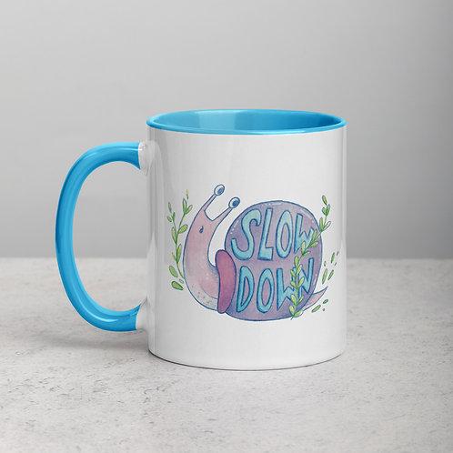Slow Down Snail Mug