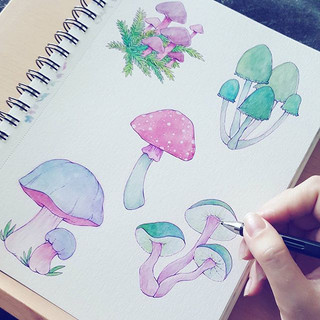 My mushrooms are almost done! I really w