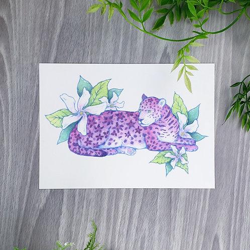 Jasmine Jaguar Fine Art Print