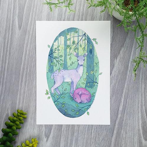 Spirit Deer Fine Art Print
