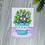Thumbnail: Jiji & Plants Small Fine Art Print (1 Print)