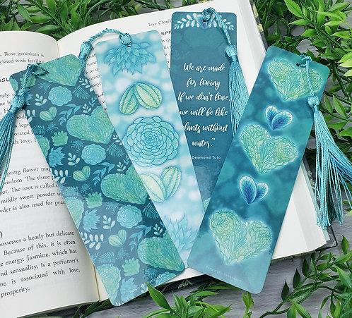 I Heart Plants Bookmarks