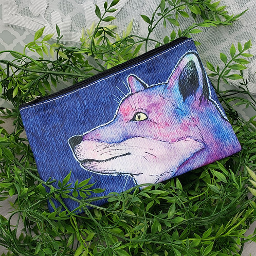 Spirit Fox Zipper Pouch