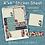 Thumbnail: Red Vintage Floral Sticker Sheet