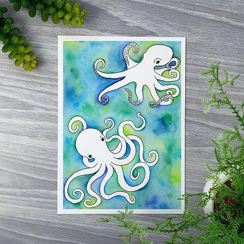 Octopodes Fine Art Print