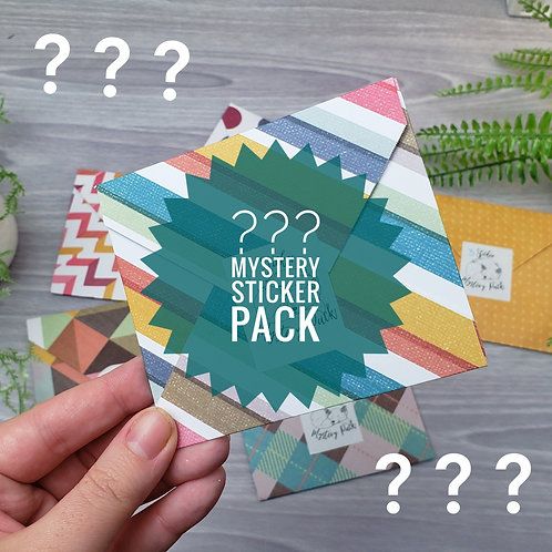 Mystery Pack Vinyl Sticker Bundle (3 or 5 Stickers)