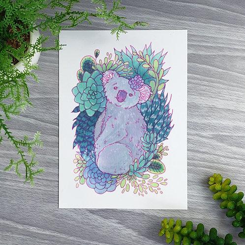 Sweet Koala Fine Art Print