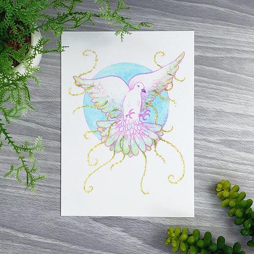 Viney Dove Fine Art Print