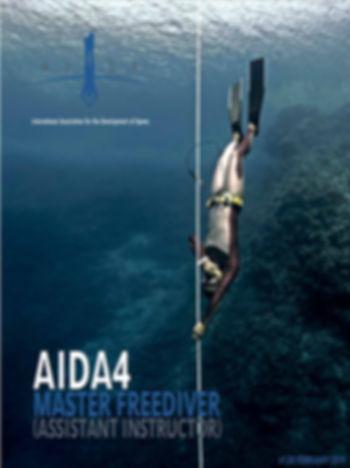 AIDA 4 Master Freediver Course