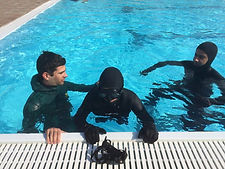 Ατομική προπόνηση ελεύθερης κατάδυσης με τους Hellas Freedivers