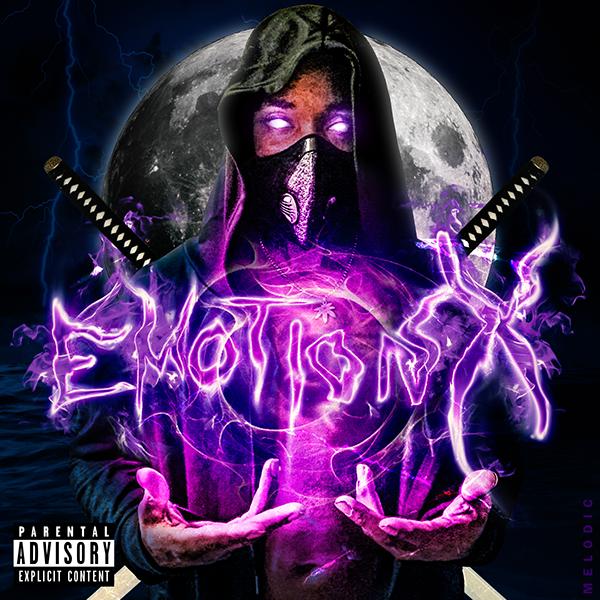 """Emotionx"" single cover"
