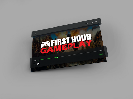 Logo design for First Hour Gameplay