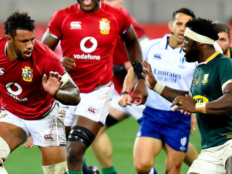 RIDING YOUR LUCK! 1st TEST – Lions 22 – South Africa 17