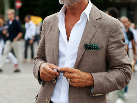 Summer fashion for men 50plus. 10 tips to turn your summer wardrobe around.