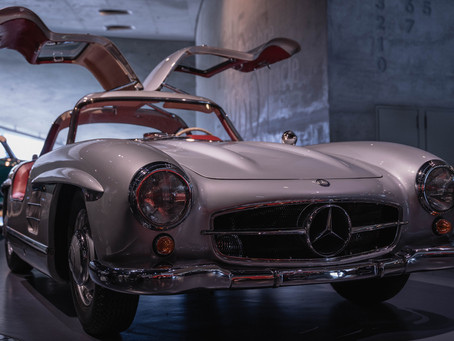 3. Mercedes SL300 Gullwing - the most beautiful car ever?