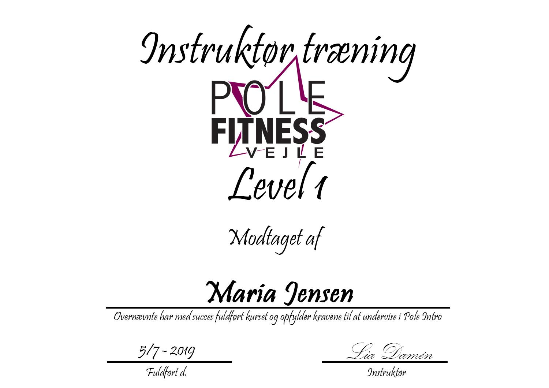 Maria_Instruktør_bevis_level_1