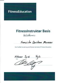 Instruktør certifikat