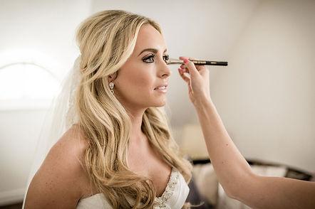 Bridal Glam Look; defined eyes & nude lips