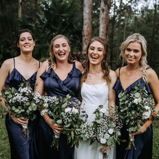 Alana and her bride tribe