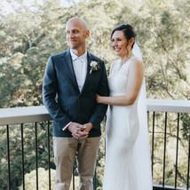 Kate & Matt elopement Maleny