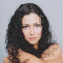 Natural makeup for model's portfolio