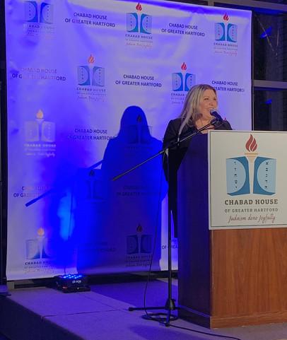 Shana Schlossberg - Chabad House of Greater Hartford Gala 2019