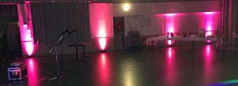 Décoration Lumineuse de salle des Fêtes Savoie Des Lyres en Musique