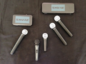 Micro Shure pour Karaoke Lyon Chambery Annecy-Des Lyres en Musique