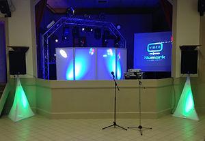 Sono DJ avec event façade pour Mariage en Savoie, Ain, Isere -Des Lyres en Musique